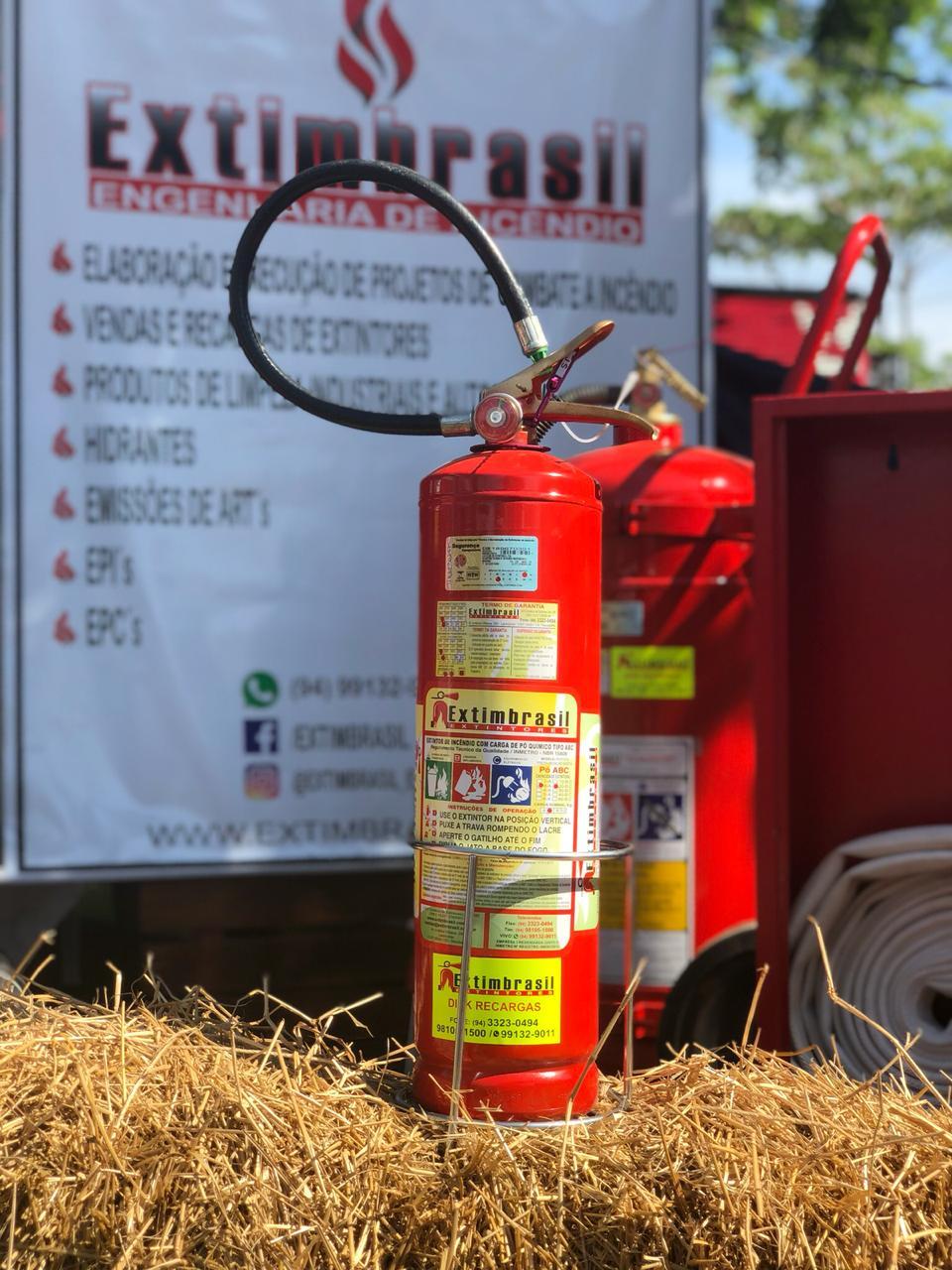 Extintores de incêndio de Todos Tamanhos e modelos