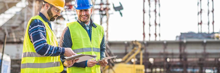 Serviços de construção civil