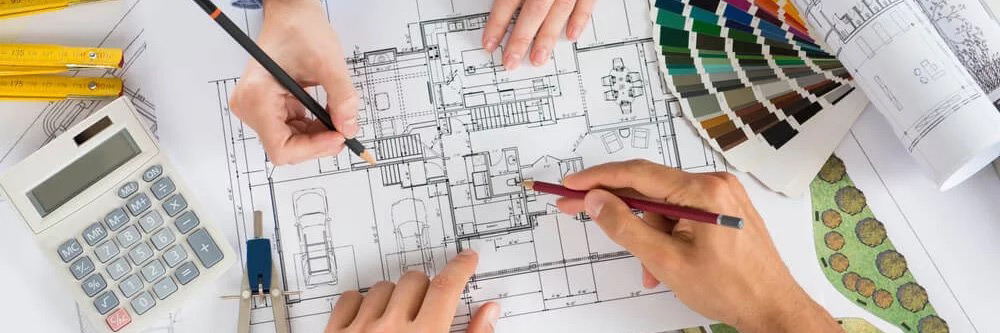 Elaboração de projetos arquitetônicos, comerciais, combate a incêndio, estruturais, hidráulicos e elétricos